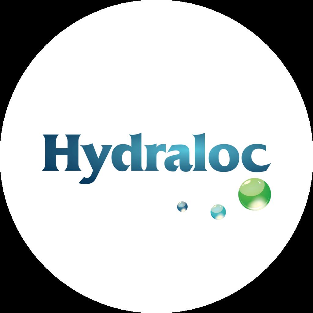Hydraloc Logo in a circle